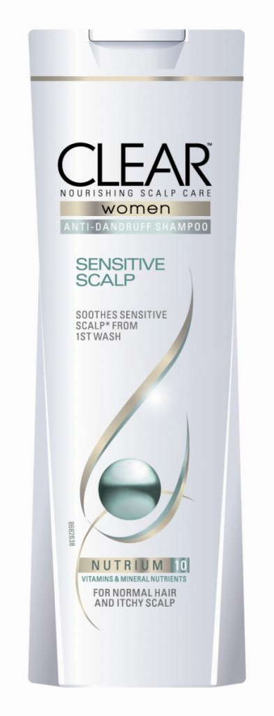 sampon clear sensitive scalp