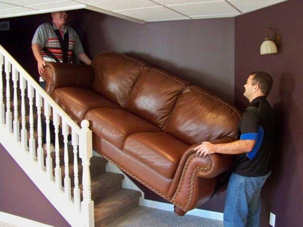 canapea pe scari