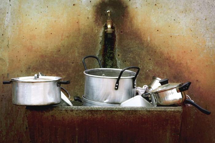 Oale murdare în chiuvetă